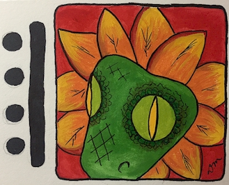 Chicchan, Feathered Serpent, Kukulkan or Quetzalcoatl