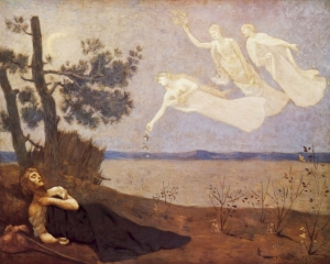 The Dream -Pierre Cécile Puvis de Chavannes