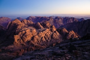 View from the Peak of Mount Sinai