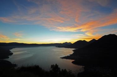 Dawn at Lake Atitlan